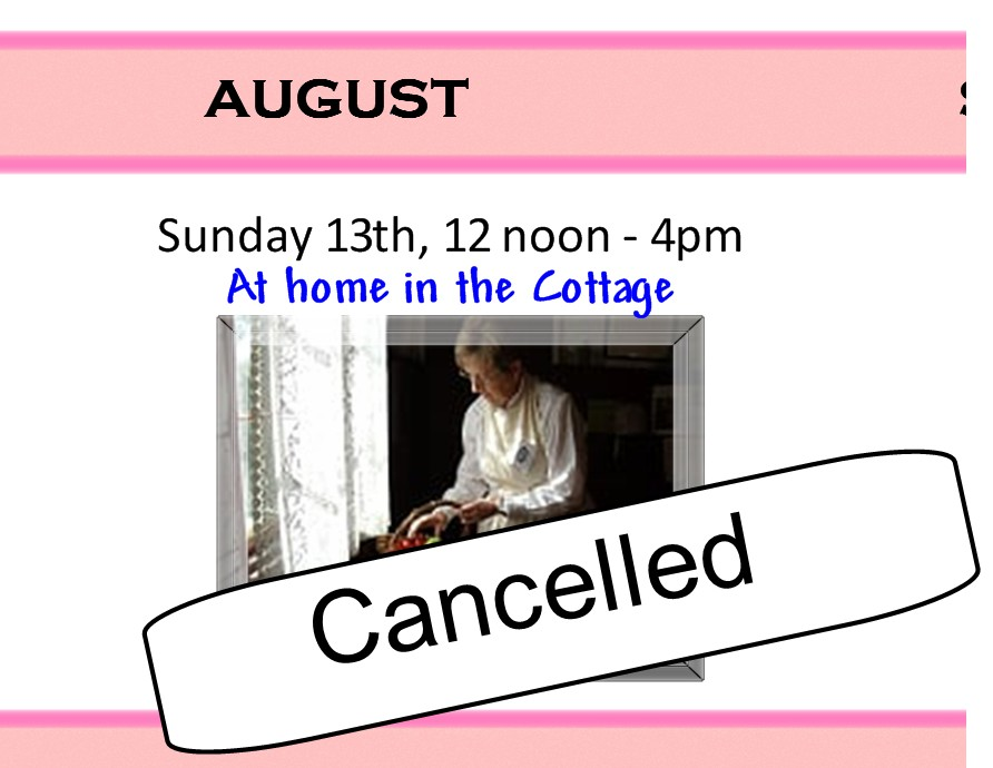 13 August 2017 Cancelled.