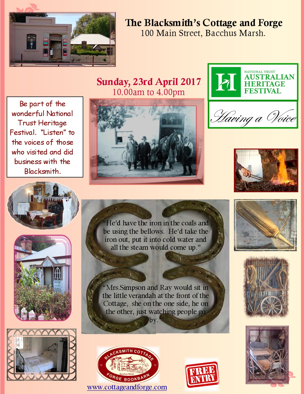 Heritage Festival, 23 April 2017 .