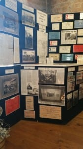 Historical display of horticultural shows.