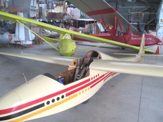 Glider at BM Museum