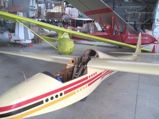 Glider at BM Museum