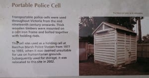 Gaol cell sign